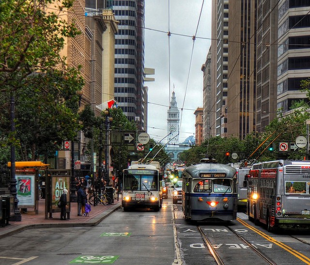 Market Street, San Francisco, California, United States