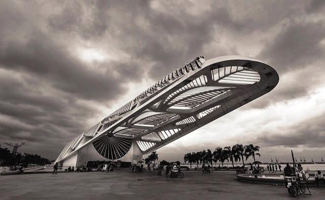 Museu do Amanhã (Museum of Tomorrow), Praça Mauá, Rio de Janeiro, Brazil