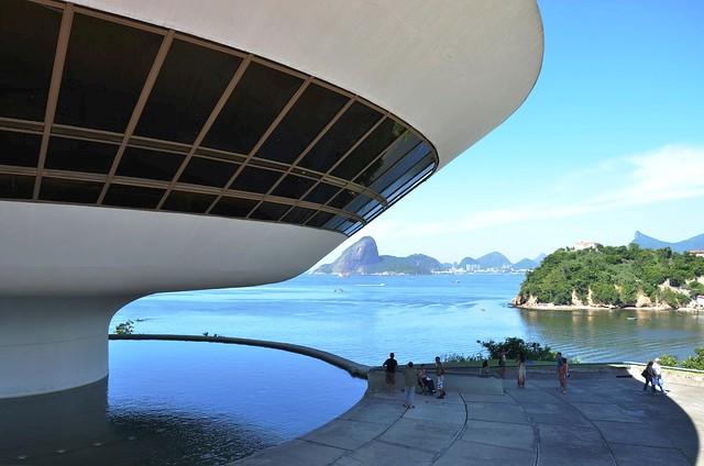 Museu do Arte Contemporânea de Niterói, Niterói, near Rio de Janeiro, Brazil