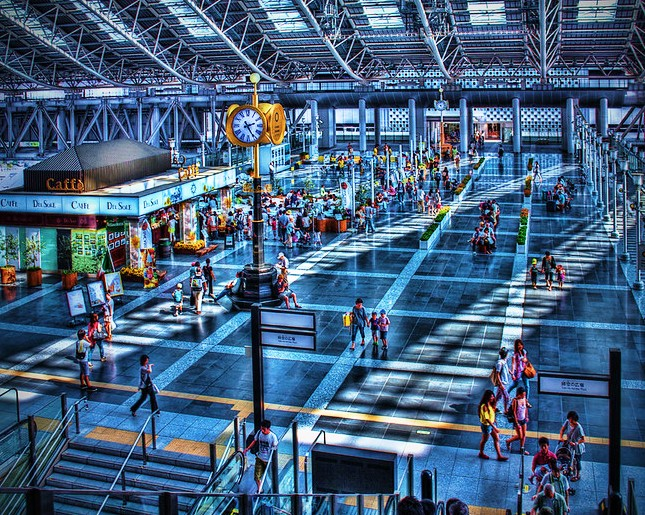 Osaka City Station, Umeda, Osaka, Kansai, Japan