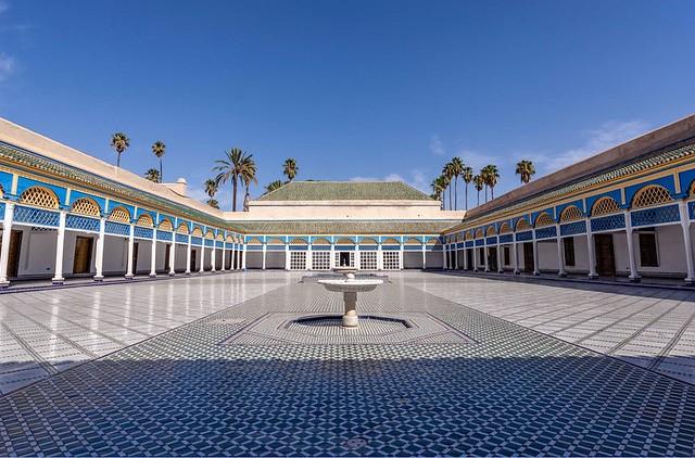 Palais de Bahia, Medina, Marrakech, Morocco