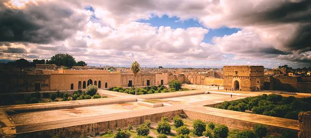 Palais el Badii, Medina, Marrakech, Morocco