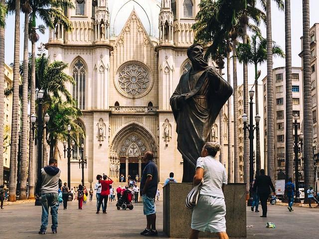 Praça da Sé, Centro, São Paulo, Brazil