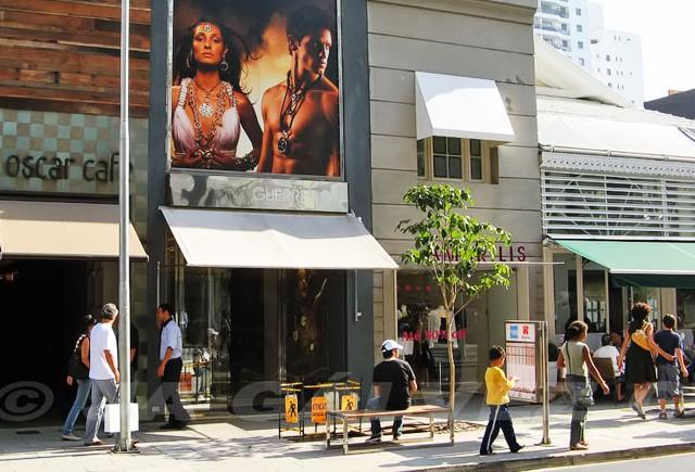 Rua Oscar Freire, Jardins, São Paulo, Brazil
