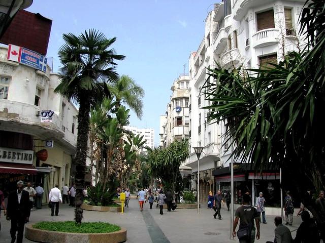 Rue Prince Moulay Abdellah, Casablanca, Morocco