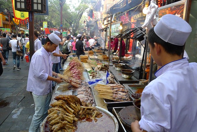 Street Food, Muslim Quarter, Xian, China
