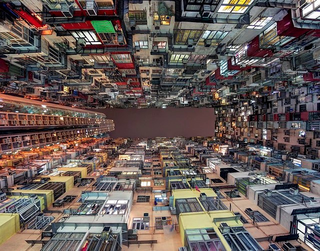 "The ""Monster Building"" in Quarry Bay, Hong Kong Island, Hong Kong, China"