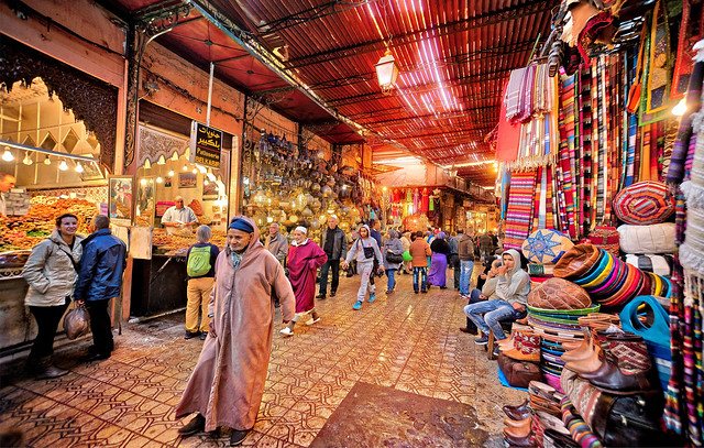 The Souk, Medina, Marrakech, Morocco
