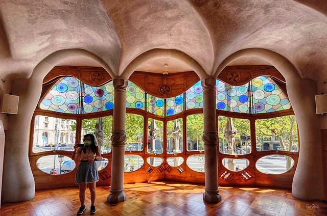 Casa Batlló, Eixample, Barcelona, Catalunya, Spain