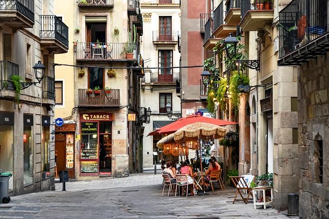 Barrio Gotico, Ciutat Vella, Barcelona, Spain