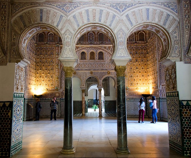 Salón de Embajadores, Real Alcázar, Sevilla, Andalusia