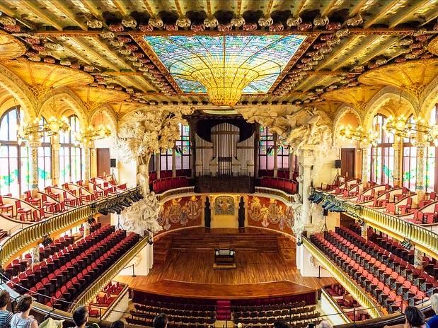 Palau de la Música Catalana, Barcelona, Catalunya, Spain