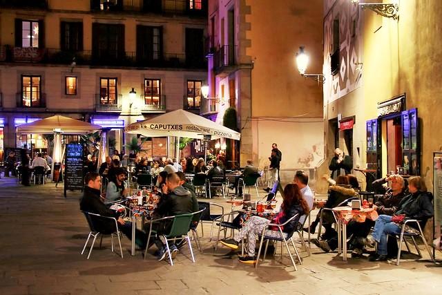 Plaça de Santa Maria, El Born, Ciutat Vella, Barcelona, Spain