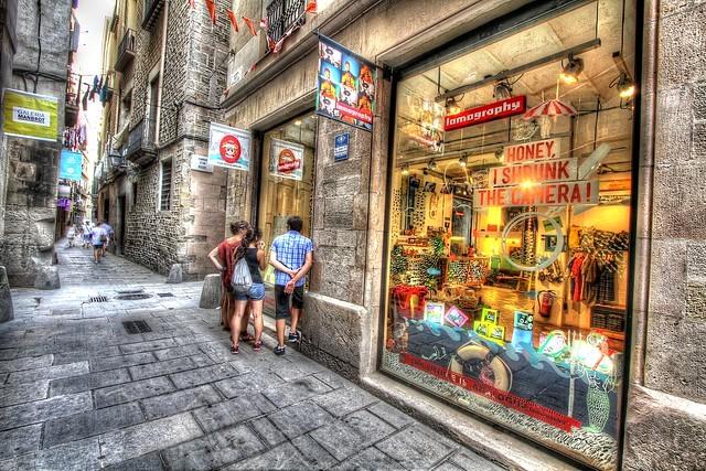 Shop in El Born, Ciutat Vella, Barcelona, Catalunya, Spain