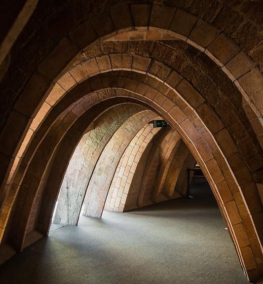 Whale Attic, Casa Milà, La Pedrera, Eixample, Barcelona, Spain