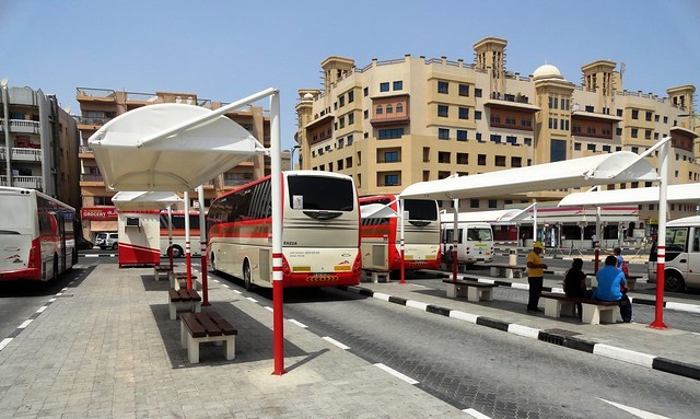Al Ghubaiba Bus Station, Bur Dubai, Dubai, UAE