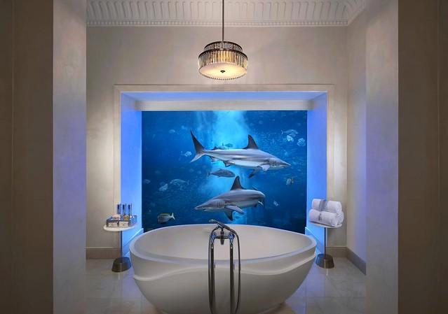 Underwater Suite, Atlantis The Palm, Palm Jumeirah, Dubai, UAE