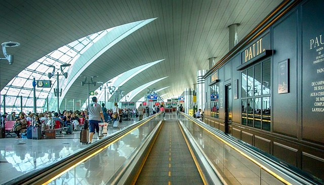Dubai International Airport, Concourse B, Dubai, UAE