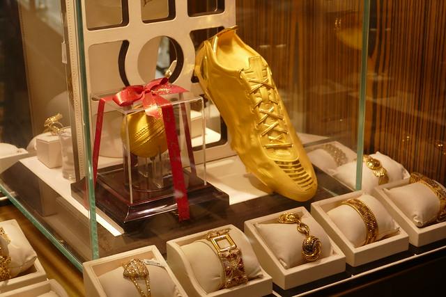 Gold Shoe, Gold Souk, Deira, Dubai, United Arab Emirates
