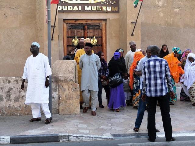 In front of Dubai Museum, Bur Dubai, Dubai, UAE
