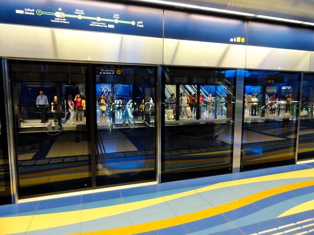 Khalid Bin Waleed (Burjuman) Metro Station, Bur Dubai, Dubai, UAE