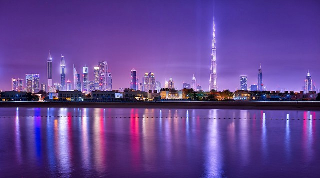 Shining Towers of Dubai, UAE