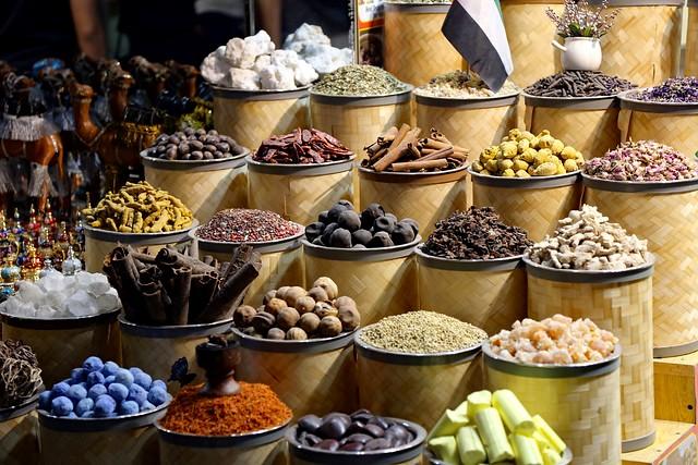 Spices at Spice Souk, Deira, Dubai, UAE