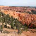 Bryce Amphitheater from Bryce Point in Bryce Canyon National Park in Utah