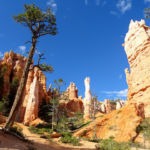 Bryce Canyon National Park Amphitheather Traverse Inside Queens Garden