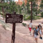 Navajo Loop and Queens Garden Junction in the Bryce Canyon Amphitheater