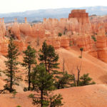 Peekaboo Loop Trail in Bryce Canyon National Park in Utah USA