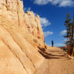Up the Queens Garden Trail to Sunrise Point End of Bryce Amphitheater Traverse