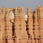 Wall of Windows on the Bryce Amphitheater Traverse in Bryce Canyon National Park in Utah