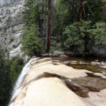 A magic place the Top of Vernal Fall Yosemite NP CA USA