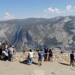 Glacier Point Viewpoint Yosemite NP California USA