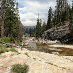 Illilouette Creek Panorama Trail Yosemite NP California USA