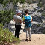 Illilouette Fall Overlook Panorama Trail Yosemite NP California USA