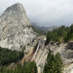 Nevada Fall from John Muir Trail Yosemite NP CA USA