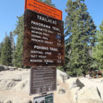 Panorama Trailhead Glacier Point Yosemite NP California USA