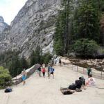 Top of Vernal Fall Yosemite NP CA USA
