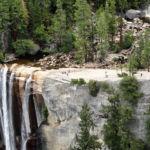 Vernal Fall from Clark Point Cutoff Yosemite NP CA USA