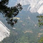 Yosemite Valley from Panorama Cliff Panorama Trail Yosemite NP California USA